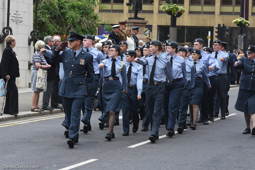 Air Cadets - Armed Forces Day Glasgow 2019