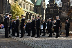 Chris Smith Royal Naval Regional Commander for Scotland & Northern Ireland - Seafarers Service at Glasgow Cathedral 2019