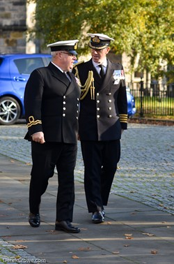 Commander Chris Smith Royal Navy  - Seafarers Service Glasgow Cathedral 2019