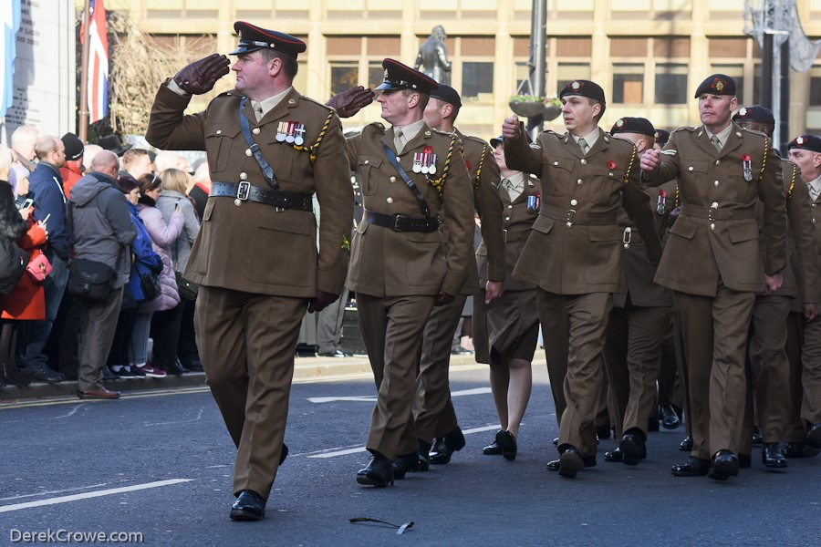 British Army - Remembrance Sunday Glasgow 2019