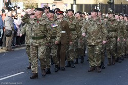 Army Cadets - Remembrance Sunday Glasgow 2019
