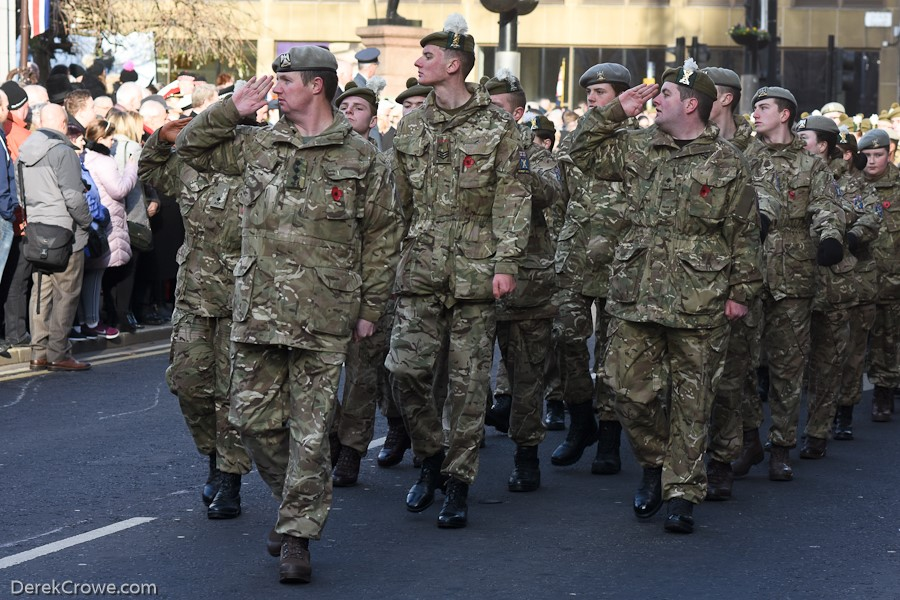 British Army Cadets - Remembrance Sunday Glasgow 2019