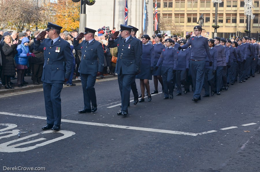 RAF Air Cadets - Remembrance Sunday Glasgow 2019