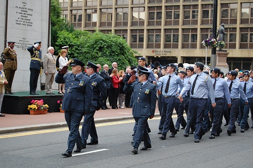 Air Training Corps, Armed Forces Day 2010 Glasgow