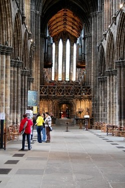 The Nave, Glasgow Cathedral, Scotland