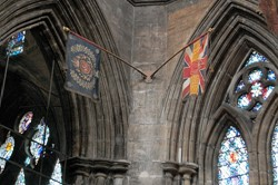 Flags, Glasgow Cathedral, Scotland