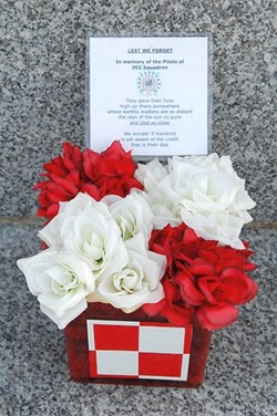 Lest We Forget - Polish Armed Forces Memorial