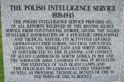 Polish Intelligence Service - Polish Armed Forces Memorial