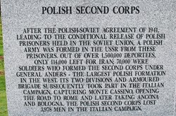 Polish Second Corps - Polish Armed Forces Memorial