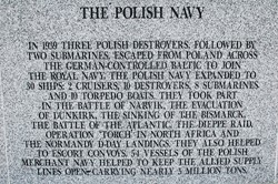 Polish Navy - Polish Armed Forces Memorial