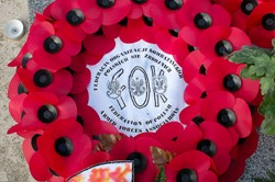 Wreath - Federation of Polish Armed Forces Associations - Newark Cemetery