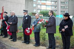 Tomasz Trafas (Polish Consul General Edinburgh) - Polish War Memorial