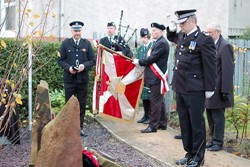 Deputy Chief Constable Steve Allen (Lothian and Borders Police) at Polish War Memorial