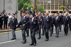 Veterans on Parade - Armed Forces Day 2011 Glasgow