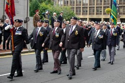 Military Parade 2011, George Square, Glasgow