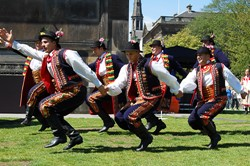 Mazury Dance Company, Polish Day, Edinburgh 2011