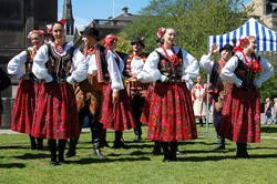 Mazury Folk Dance Company, Polish Day, Edinburgh 2011