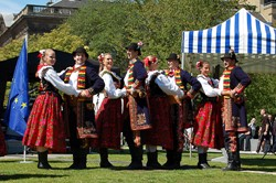 Mazury Dance, Polish YMCA, Polish Day Edinburgh 2011