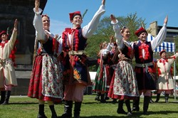 Polish Mazury Dance Company, Polish Day, Edinburgh 2011